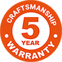 Craftsmanship 5 Years Warranty - Tornado Roofing & Gutters - Colorado