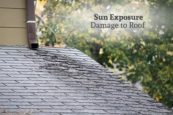 Sun Exposure Damage to Roof - Roof Repair or Replacement - Commercial or Residential Roofing - Tornado
